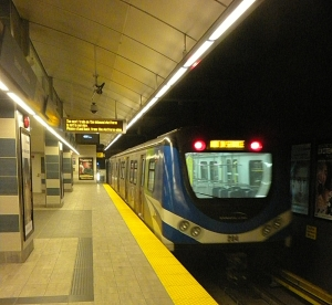 Canada Line at Yaletown TransLink, Vancouver BC ©Photograph by H-JEH Becker, 2013